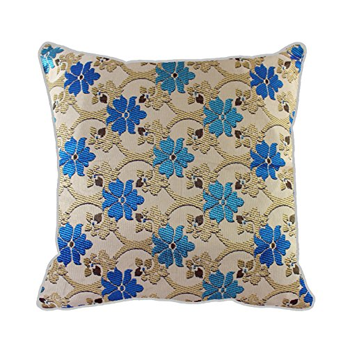 Marroquí lujo funda Jacquard seda Geometric Pattern Tiles ...
