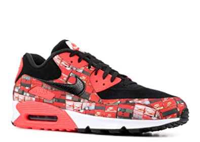 cheaper 8259d 609f1 Image Unavailable. Image not available for. Color  Nike Men s Air Max 90  PRNT Running Shoe (7) White