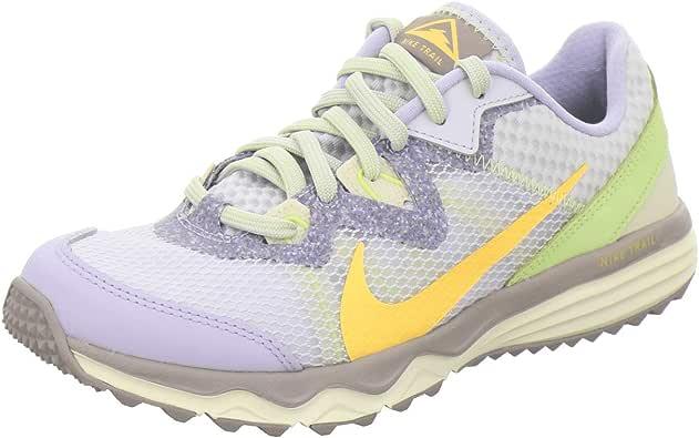 Nike Juniper Trail, Zapatillas para Correr de Carretera para Mujer, Ghost/Laser Orange-Pure Platin, 38 EU: Amazon.es: Zapatos y complementos