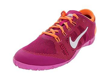 watch 9f057 08270 Nike Women s NIKE FREE BIONIC 599269 501 beere pink orange Training Aerobic  Fitness Cross Trainers Pink