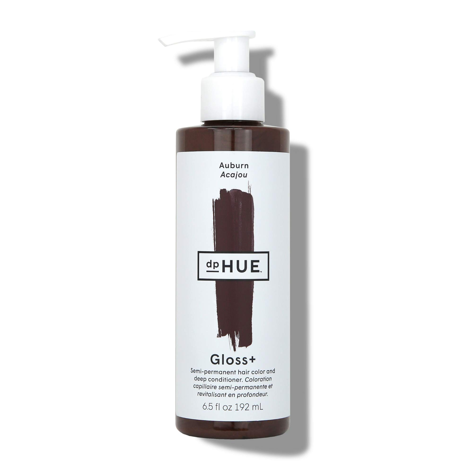 dpHUE Gloss+ - Auburn, 6.5 oz - Color-Boosting Semi-Permanent Hair Dye & Deep Conditioner - Enhance & Deepen Natural or Color-Treated Hair - Gluten-Free, Vegan