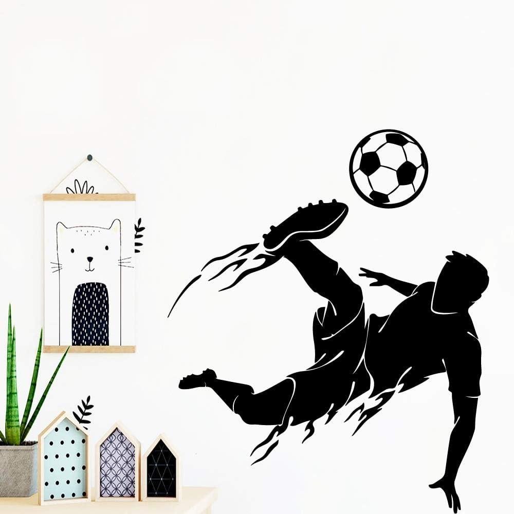 BailongXiao Jugadores de fútbol Modernos Adhesivos de Pared ...