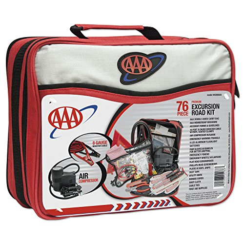 AAA 76-Piece Excursion Road Kit for A Stress-Free Memorial Day Weekend Camping Trip