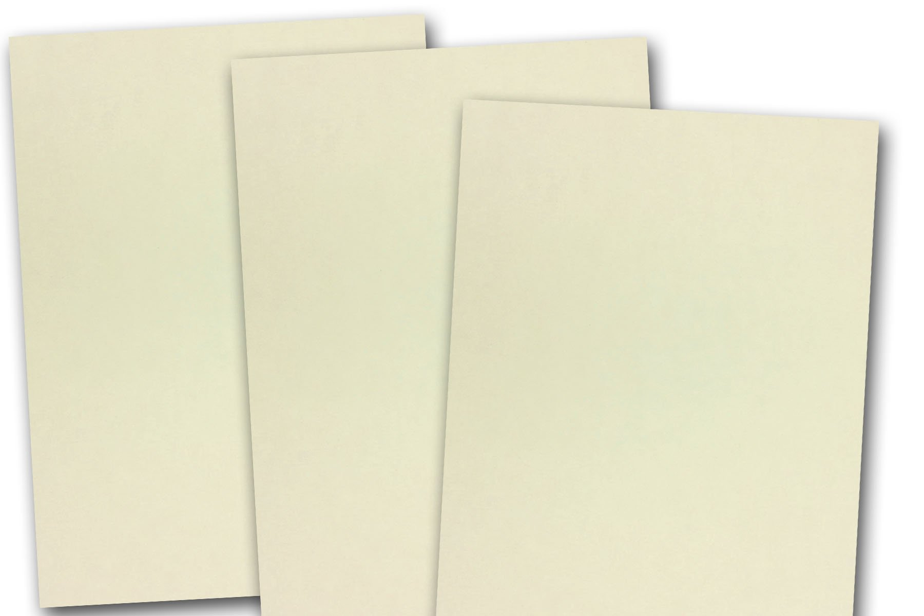 Discount Lightweight 4'' x 6'' Smooth Finish Card Stock - Great for printing (500 Pack, Natural)