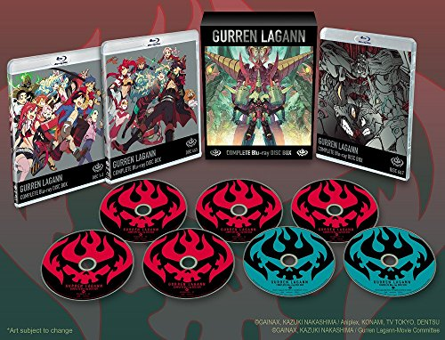 Gurren Lagann Complete Box Set Blu-Ray by