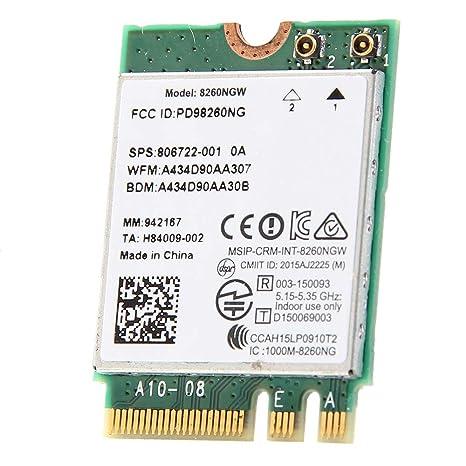 Etase Nueva Banda Dual para Intel -AC 8260 8260NGW NGFF 2X2 ...