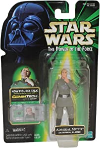 Star Wars: Power of the Force CommTech Admiral Motti Action Figure
