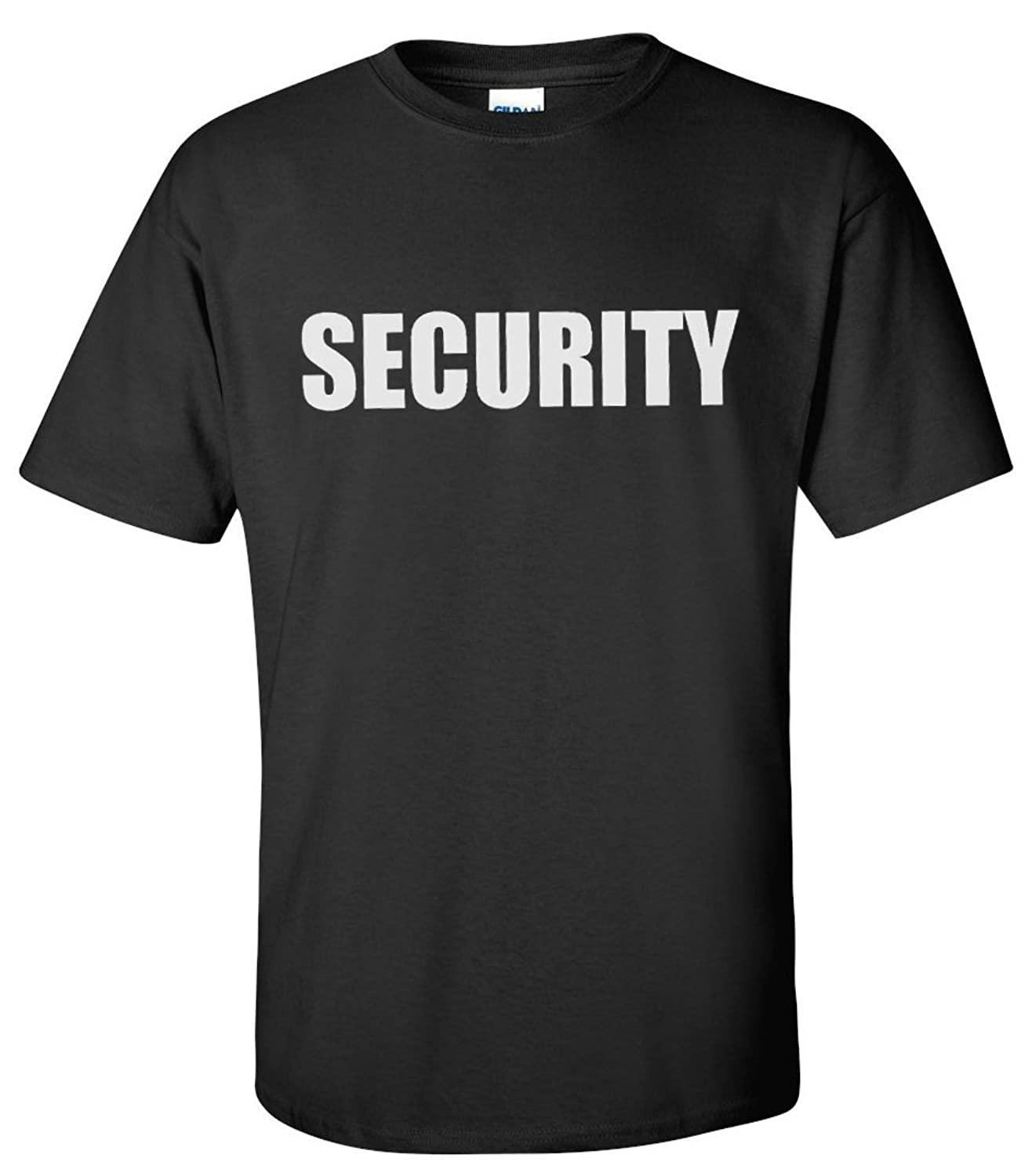 Black t shirt security - Amazon Com Security Event Safety Guard Two Side Print Black W Tall Sizes Unisex T Shirt Clothing