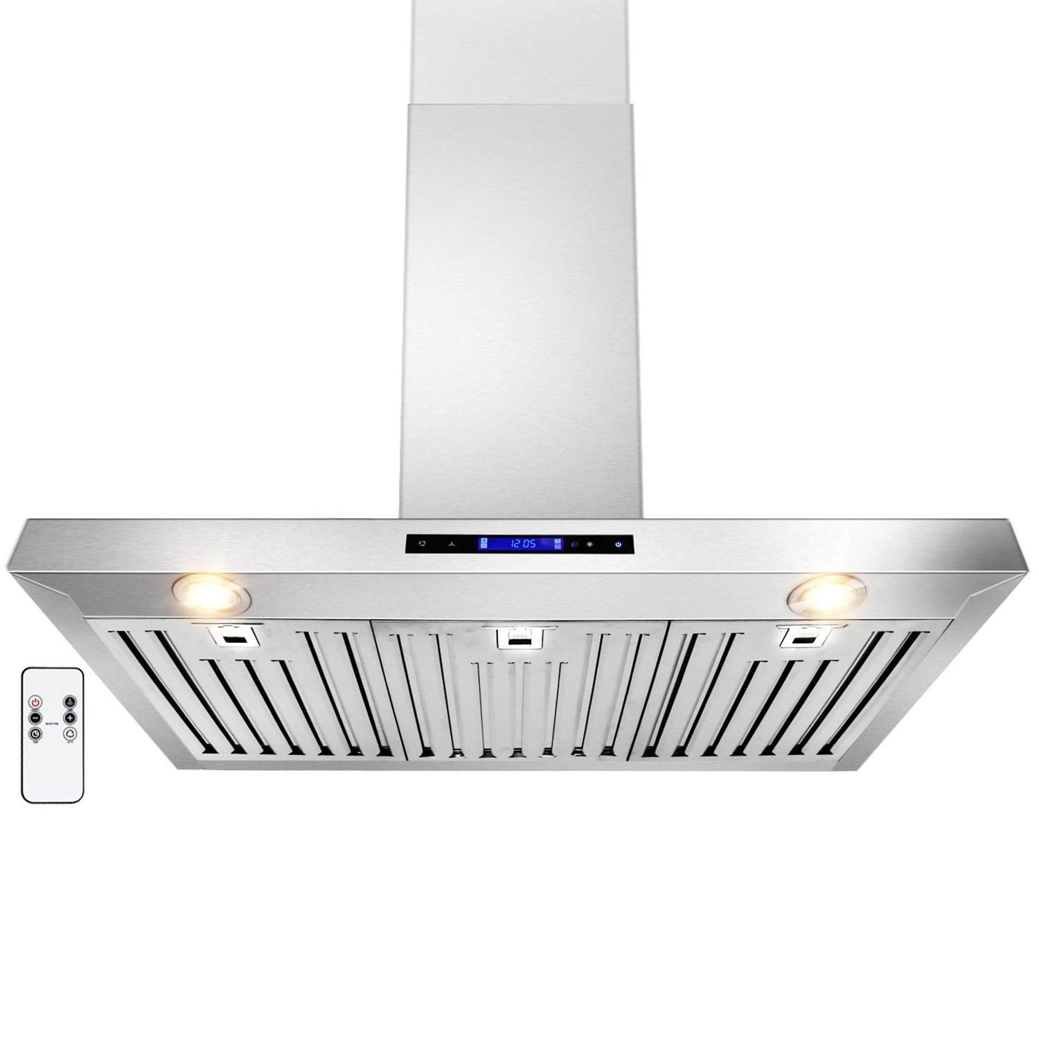 GOLDEN VANTAGE 36 Wall Mount Stainless Steel Range Hood With Remote GV-Z01-36 GVZ01-36