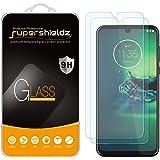Supershieldz - Protector de visualización de vidrio templado para Motorola (Moto G8 Plus), antiarañazos, sin burbujas