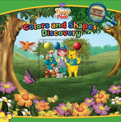 Read Online My Friends Tigger and Pooh: Colors and Shapes Discover pdf