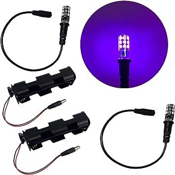 E27 UV Ultravioleta Fluorescente iluminaci/ón de luz Negra para Celebraciones de Bares cumplea/ños Tiendas supermercados Fiestas de Bodas Rsoamy L/ámpara LED de luz Negra