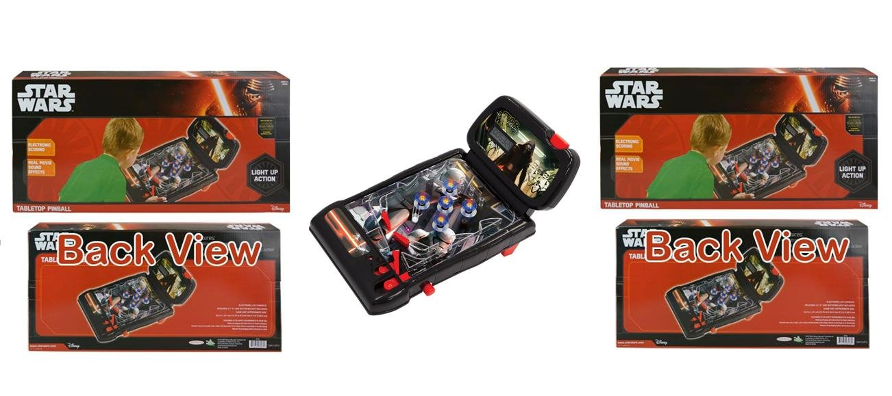 Star Wars The Force Awakens Pinball Tabletop Game X 2 Set