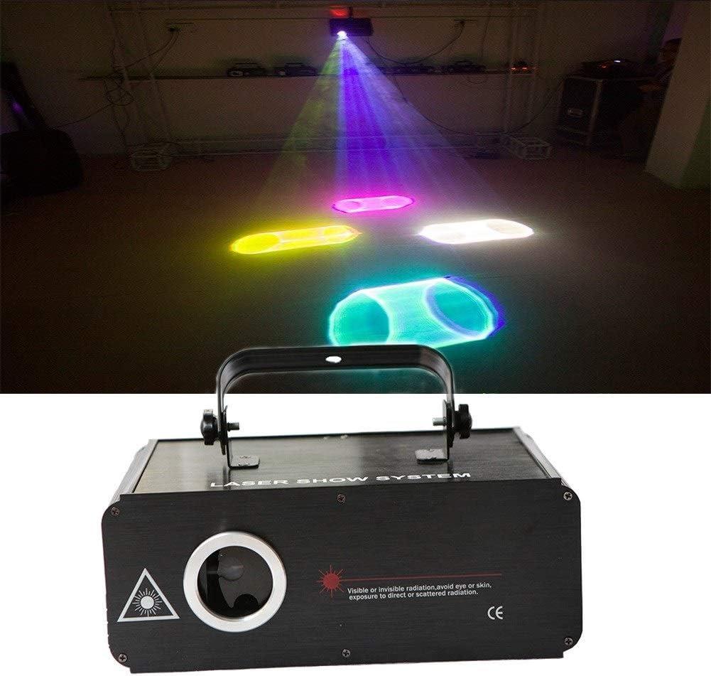 3DフルカラーDJステージライト100パターン党ライトサウンドは、クラブクリスマス誕生日結婚式KTVバーのためのディスコライトを活性化 1/16
