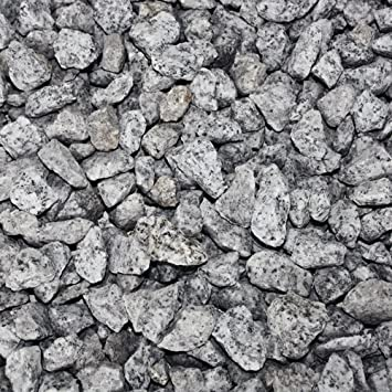 Paligo Granit Splitt Zier Edel Kies Deko Stein Garten Natur Kiesel
