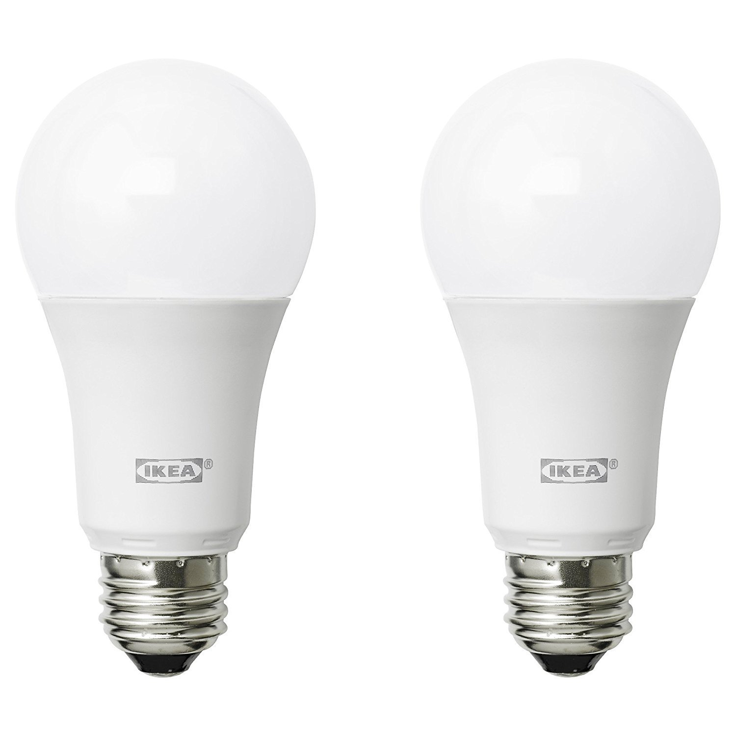 IKEA RYET LED Bulbs E26 A19 2700K Warm Soft White - Pack of 2 (1000 Lumen - 11.5 Watts) - - Amazon.com