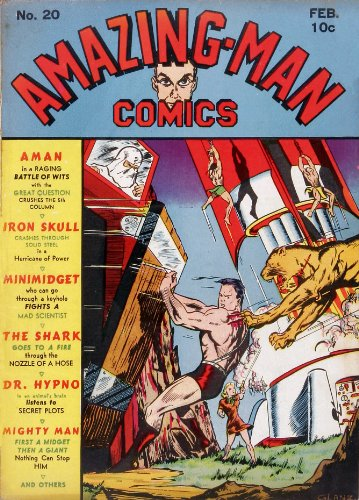 Amazing-Man Comics #20 (Illustrated) (Golden Age Preservation Project)