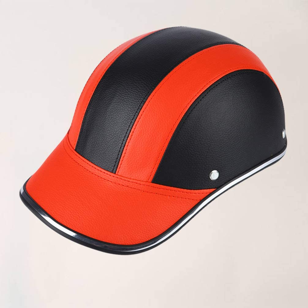BESPORTBLE Leather Cycling Helmet Adult Bicycle Helmet UV Protective Cycling Helmet for Bike Bicycle Motorcycle
