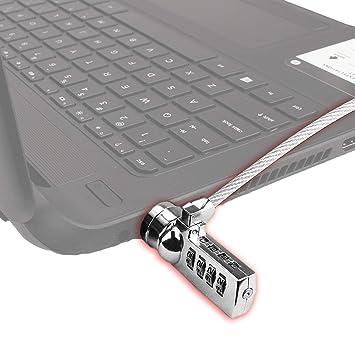 Portátil Universal seguridad cerradura de combinación y Cable de acero portátiles ordenadores de sobremesa por Bogo marcas: Amazon.es: Electrónica