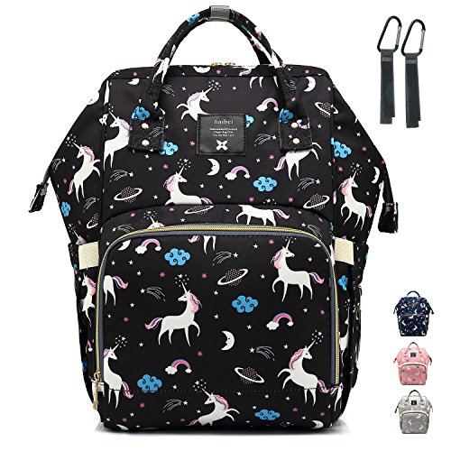 Diaper Bag Nappy Bags for Travel with Baby Multifunctional Waterproof Mama Backpack Large Capacity Durable and Stylish…