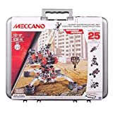 Meccano Erector Super Construction 25-in-1 Building Set, 638 Parts, for Ages 10+, Steam Education Toy