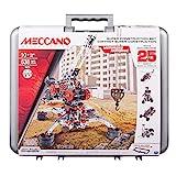 #2: Meccano Super Construction Set, 25 Motorized Model Building Set, 638 Pieces, For Ages 10+, STEM Education Toy