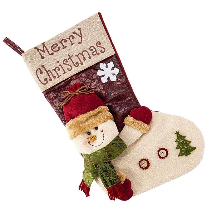Iraza 1 par de Calcetines de de las mujeres de Navidad decoración,Medias de Navidad