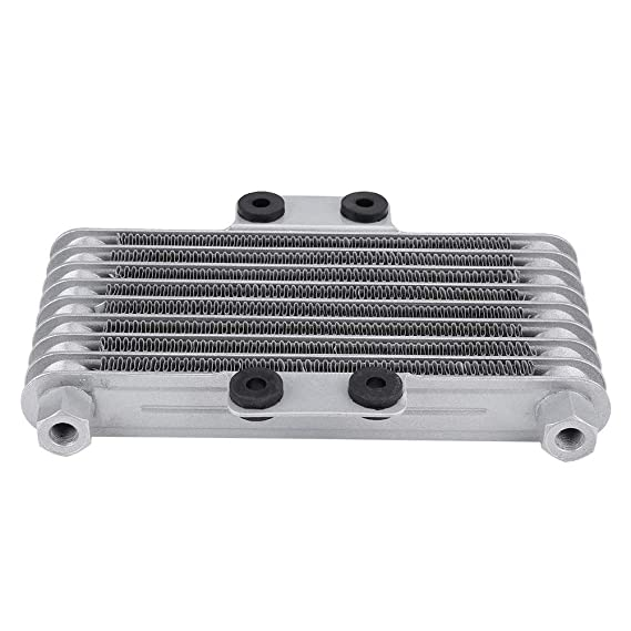 Amazon.com: KIMISS 125ml Aluminum Motorcycle Oil Cooler Engine Oil Cooler Radiator Kit for125CC 150CC 200CC: Automotive