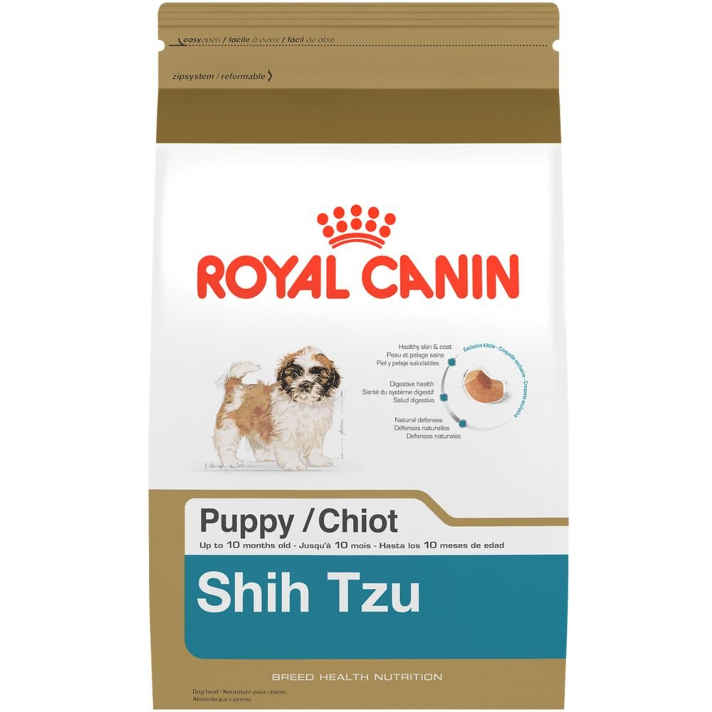 Royal Canin BREED HEALTH NUTRITION Shih Tzu Puppy dry dog food, 2.5-Pound by Royal Canin (Image #1)