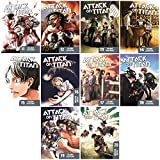 Attack on Titan: Anime Manga Book Series Collection - Volumes 11-20