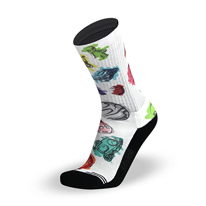 LITHE Space Jam MenŽs Sublimotion Calcetines Blancos White Socks: Amazon.es: Ropa y accesorios