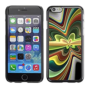 """Exotic-Star ( Abstract Psychedelic ) Fundas Cover Cubre Hard Case Cover para 4.7"""" iPhone 6"""