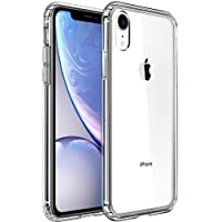 Mkeke Clear Anti-Scratch Shock Absorption Cover Case for iPhone XR