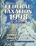 Prentice Hall's Federal Taxation 1998 : Individuals, Pope and Kramer, John L., 0136536190