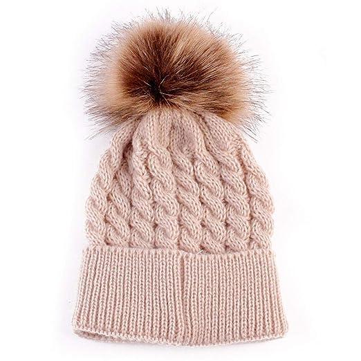 Amazon.com  Vicbovo Toddler Winter Warm Hat cbe28c8e5212