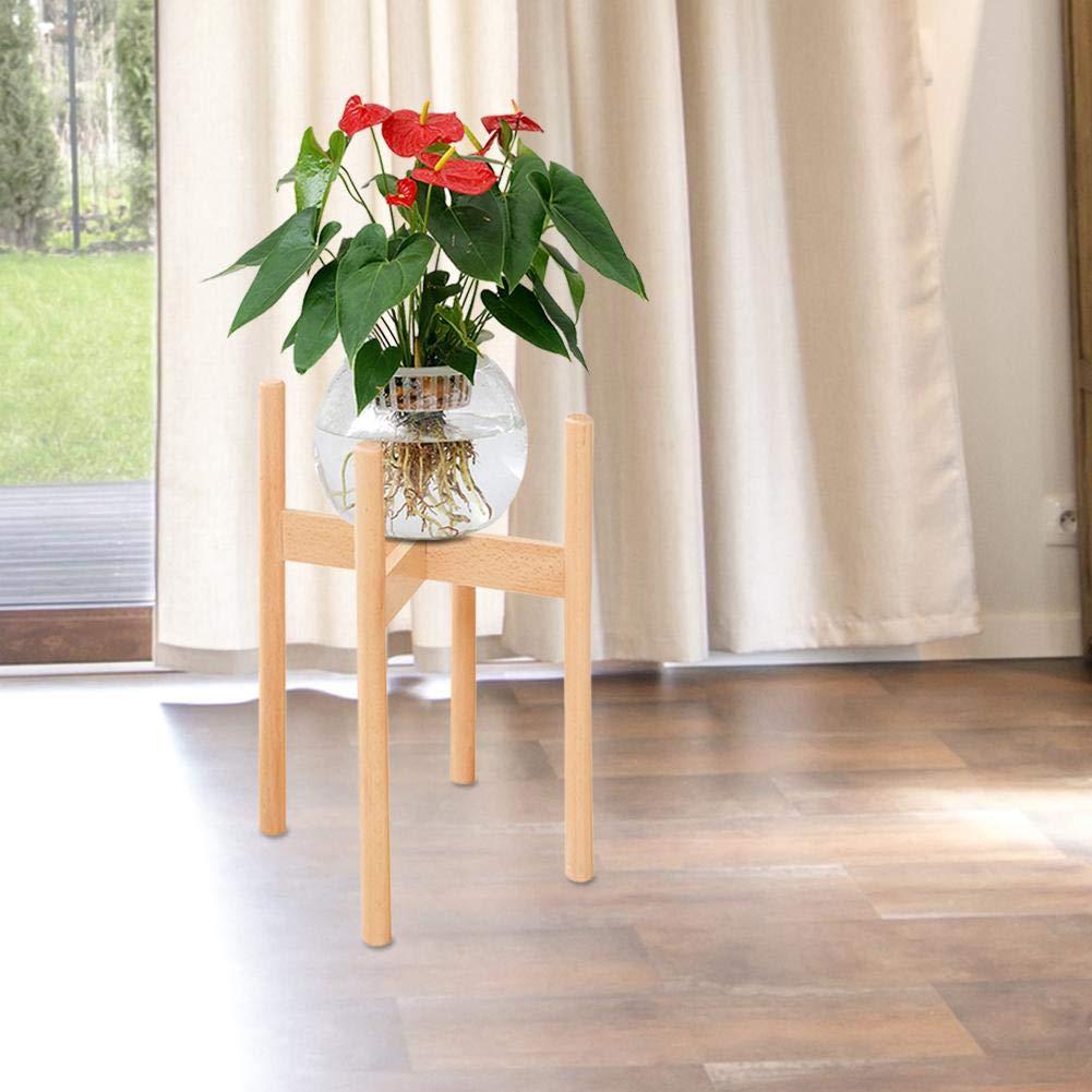 Porte Pot De Fleur Nordic Flower Pot Bois Cadre Plancher Solide Bois