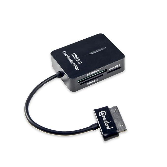 Connectland - Lector de Tarjeta de Memoria para Tablet Samsung (30 ...