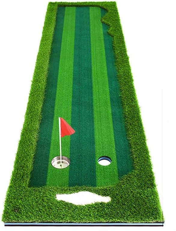 YSDHE 大型ゴルフグラス練習100 Cm * 300 Cmスロープ練習マットドライビングチッピングピッチングパッティング