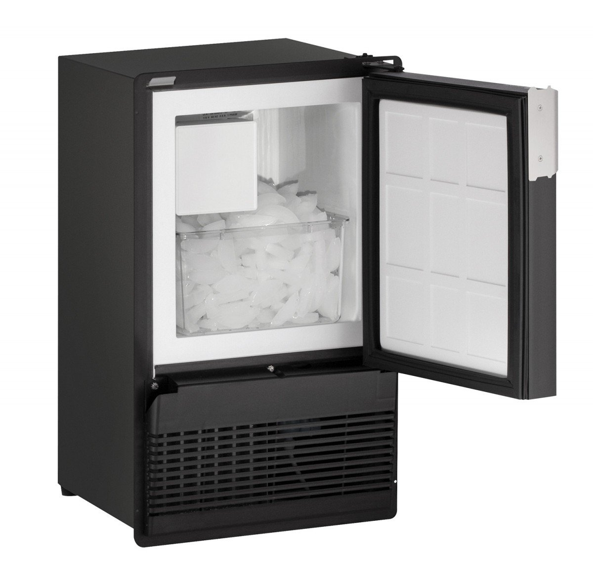 "U-LINE BI95FCB03A ICE MAKER, BLACK, 28"" H"
