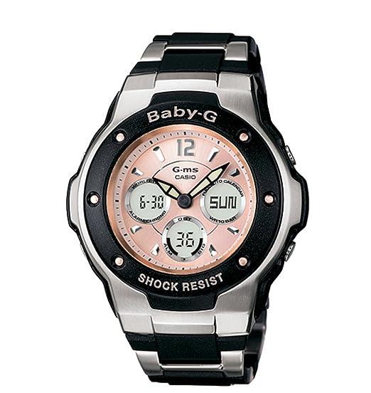 Casio MSG300C-1B - Reloj para mujeres, correa de resina: Amazon.es: Relojes