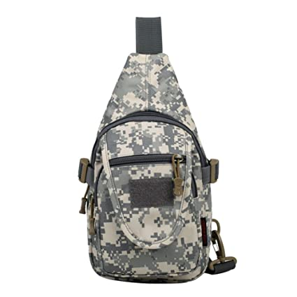 52c64f4b3d1c Domybest Unisex Sports Chest Pack Camping Outdoors Small Sling Bag ...