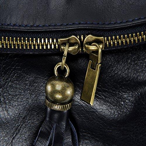 épaule modèle main bacall à bandoulière Bleu pleine 2018 souple sac peau modèle porté collection Fonce DESTOCK et pt CUIR nouvelle cuir ZxAtqwX4nO