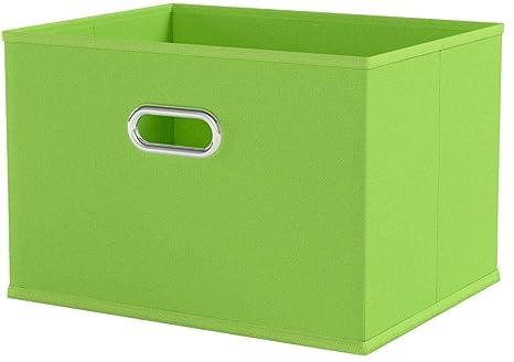 Zeller 14414 - Caja de almacenaje de tela, plegable, 33 x 26 x 22 ...