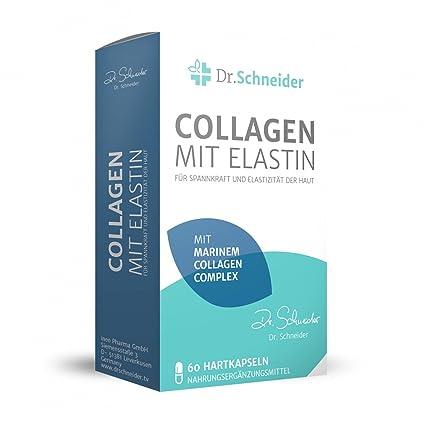Dr. Schneider Colágeno con elastina para elasticidad y elasticidad de la piel - conocido de