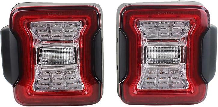 Sxma Neueste Led Rücklichter Für 07 17 Wrangler Rückfahrscheinwerfer Blinker Lauflichter Euro Version Auto