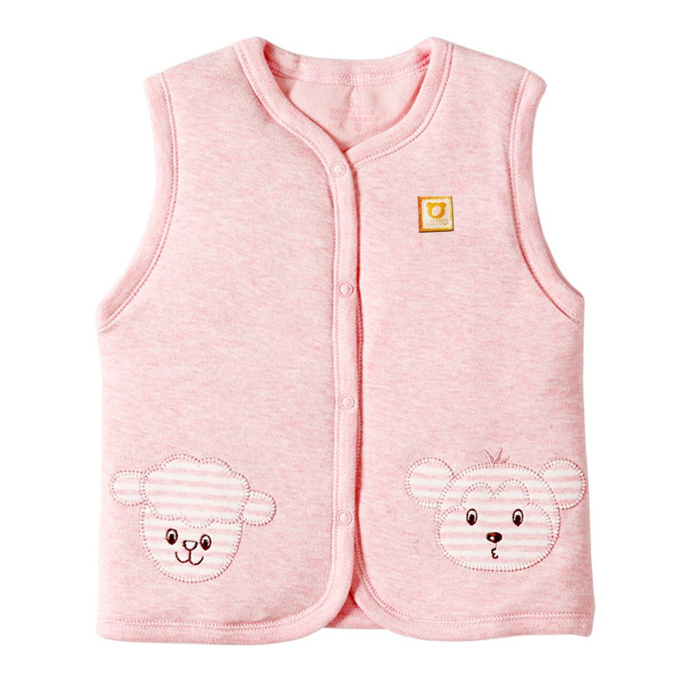 Baby Warm Jacket Cotton Vest, XYIYI Unisex Infant Toddler Padded Waistcoat