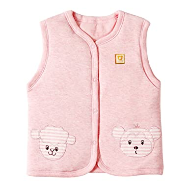 aa352b18b Amazon.com  XYIYI Baby Warm Jacket Cotton Vest