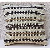 12''x12'' African Mudcloth Kelim Pillow Cover Mud Cloth Farmhouse Kilim Pillow