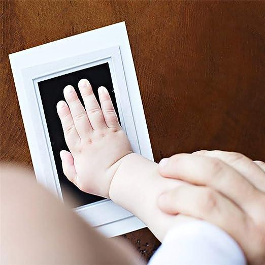 Extra Grande para Beb/és 3-Pack Almohadillas de Tinta y Huella para HuellasHuella sin Tinta Segura para Beb/és