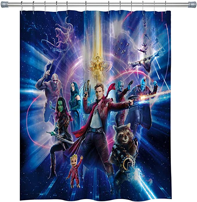 Guardians of the Galaxy Marvel Valance curtain